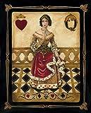 WallsThatSpeak 4 Harlequin Playing Card Poker Joker