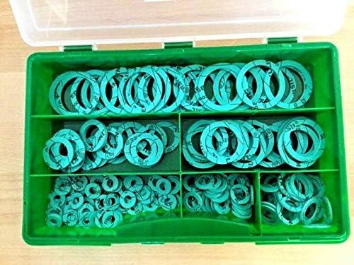 FLACHDICHTUNG 302 tlg Set KLINGERSIL C-4400 Sanit/är 3//8-1 /½
