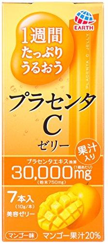 어스   1주간 충분히 촉촉해지는 프라센타(태반)C젤리 망고 맛 10gx7개