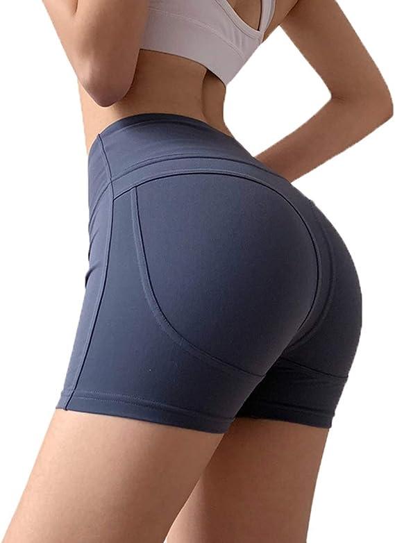 Pantalones Cortos De Entrenamiento De Malla para Mujer Running Pantalones Cortos De Yoga Nuevo!