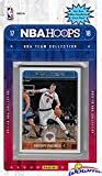 New York Knicks 2017/18 Panini Hoops NBA Basketball EXCLUSIVE Factory Sealed Limited Edition 13 Card Team Set with Kristaps Porzingis, Tim Hardaway Jr & Many More! Shipped in Bubble Mailer! WOWZZER!