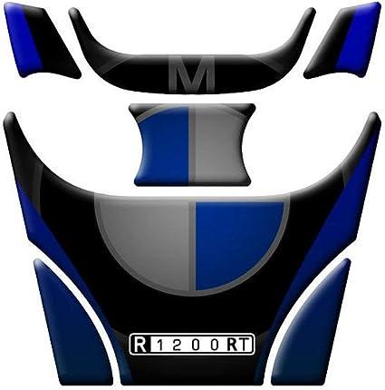 PEGATINA DE TANQUE RESINADO AZUL FITS BMW R 1200 RT 2005-2014: Amazon.es: Coche y moto
