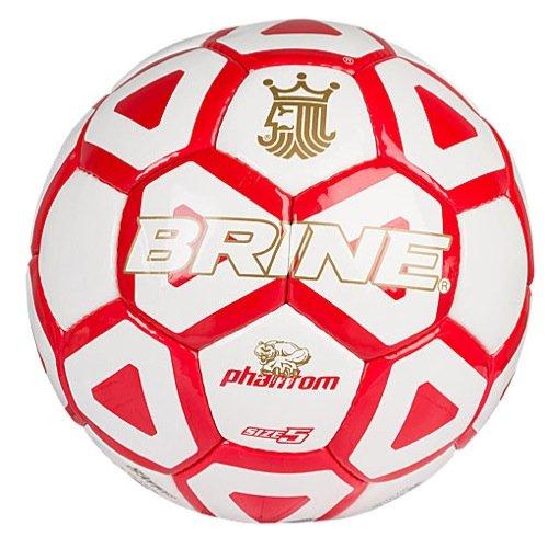 - Brine Phantom Soccer Ball, Scarlet, Size 5