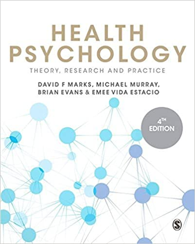 Book Health Psychology: Theory, Research and Practice by David F. Marks (2015-05-27)