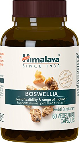 51wsswstD8L - Himalaya Pure Herbs Boswellia, Joint Support, 60 Capsules