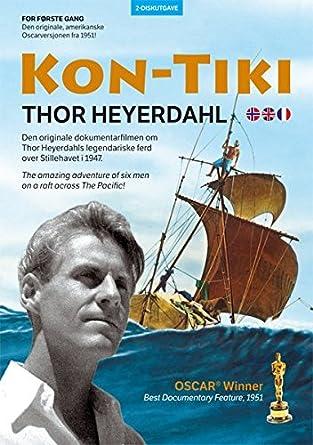 Kon Tiki De Thor Heyerdahl 2 Disc Edition Dvd Import De La Norvège Amazon Fr Thor Heyerdahl Thor Heyerdahl Dvd Blu Ray