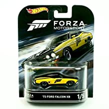 '73 FORD FALCON XB from the classic video game FORZA MOTORSPORT Hot Wheels 2016 Retro Entertainment Series 1:64 Scale Die Cast Vehicle (#1 of 5) by Retro Series