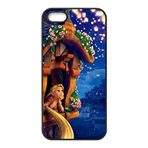 Customize Cartoon Tangled Princess Back Case Fits for iphone 5 5S JN5S-2366