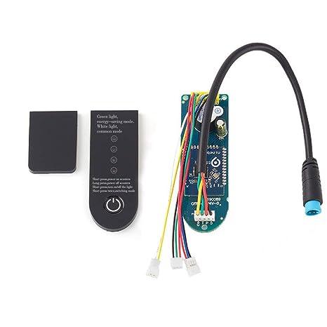 SHM-F Patinete eléctrico Tarjeta de Control Placa Base Placa Principal,eléctrico Scooter Placa de Circuito Reparación Kit para Xiaomi Scooter M365