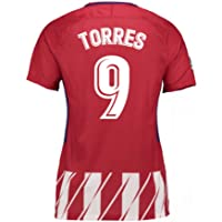 2017-2018 Atletico Madrid Womens Home Football Soccer T-Shirt