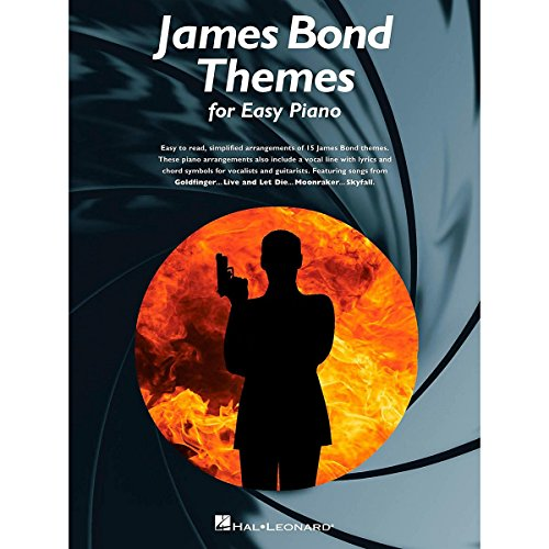 Music Sales James Bond Themes For Easy Piano ()