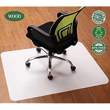 Amazon.com : Office Chair Mat for Hardwood Floors 30 x 48 - Floor ...