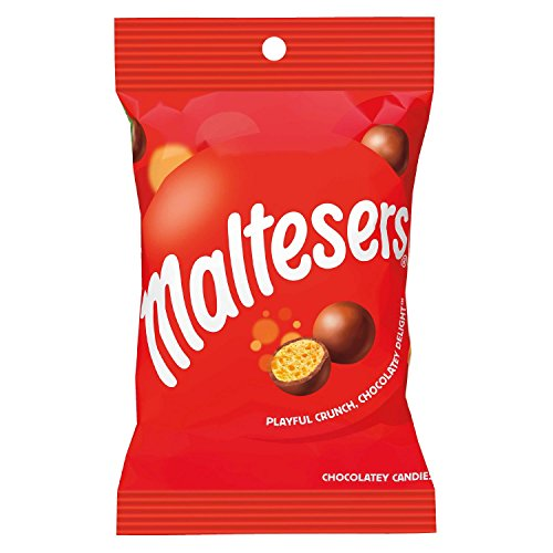 MALTESERS Original Chocolatey Candies 3.52-Ounce Bag (Sized Bite Desserts)