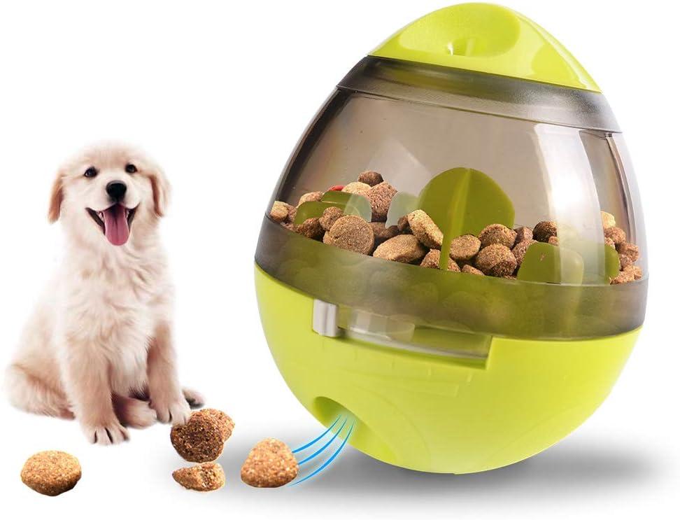 Slow Intelligent Feeder Healthy Dog Ball Toy Puzzle Dispenser,Tumbler Pet Feeder Pet Interactive Toys IQ Treat Pet Ball Pet Toy Food Dispensing