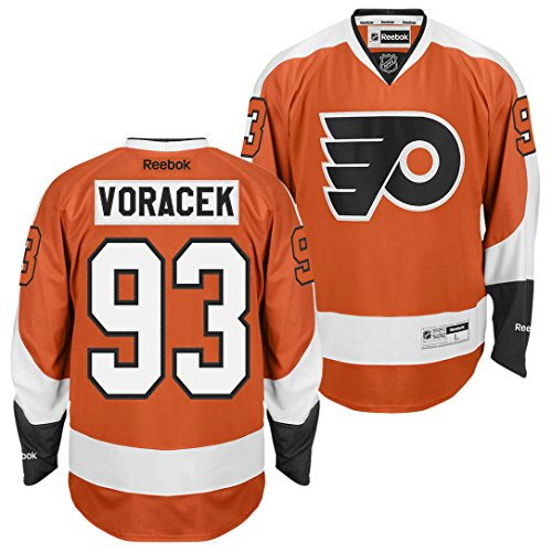 Jakub Voracek Philadelphia Flyers Memorabilia at Amazon.com. Amazon.com. Jakub  Voracek Philadelphia Flyers Reebok Team Color Premier Jersey (Orange) S b0f5e541a