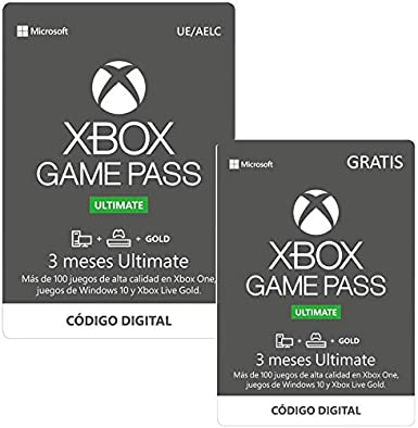 Suscripcion Xbox Game Pass Ultimate - 3 Meses + 3 Meses ...