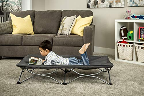 Regalo My Cot Portable Travel Bed, Includes Fitted Sheet, Grey (Folding Pet Bed Bag And)