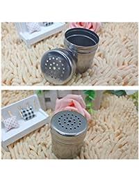 Win 1 Pc Firm Stainless Monosodium Glutamate Seasoning Pot Cruet Storage Bottles Spice Jar opportunity