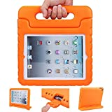 iPad mini 4 case, ANTS TECH Light Weight [ Shockproof ] Cases Cover with Handle Stand for Kids Children for iPad mini 4 (iPad mini 4, Orange)