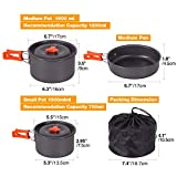REDCAMP 18 PCS Camping Cookware Mess