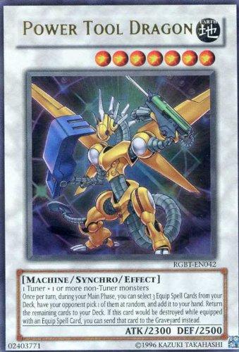 Yu-Gi-Oh! - Power Tool Dragon (RGBT-EN042) - Raging Battle - Unlimited Edition - Ultra Rare