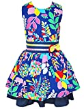 Little Girls' Easter Dress,CM-Kid Toddler Girl Flower Bow Tie Party Cotton Sundress for 2T-3T offers