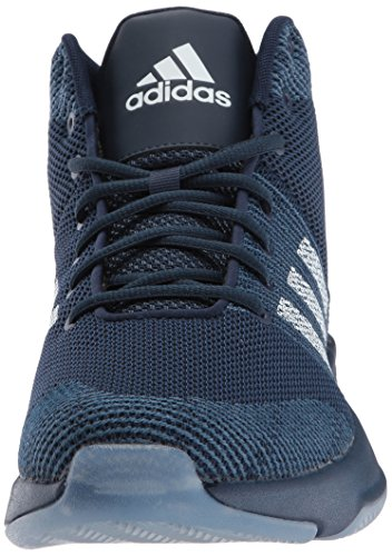 Adidas Neo Mens Cf Executor Mid Basketball-shoes Blu Navy Collegiale / Bianco / Blu Scuro