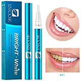 Teeth Whitening Pen Gel Dental - 2 Packs Kit 35% Carbamide Peroxide Natural Mint Flavor Effective No Sensitivity Painless Easy to Use Portable Beautiful Smile Whiter Teeth Whitening Product