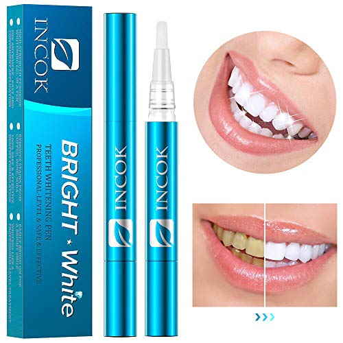 Teeth Whitening Pen Gel Dental - 2 Packs Kit 35% Carbamide Peroxide Natural Mint Flavor Effective No Sensitivity Painless Easy to Use Portable Beautiful Smile Whiter Teeth Whitening Product (Best Professional Teeth Whitening Products)