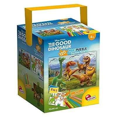 Lisciani Giochi 52899 Puzzle In A Tub Maxi Good Dinosaur 120 Pezzi Multicolore