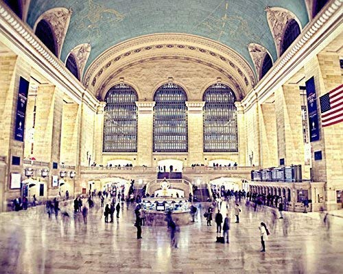 Grand Central Station New York City Photography 5x7 Print ()