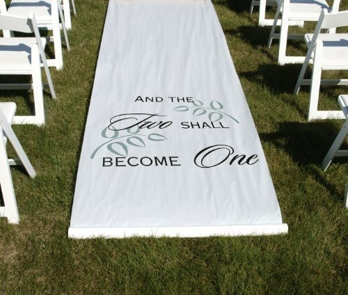 2 Become 1 Aisle Runner