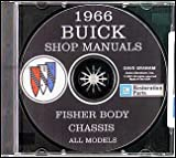 1966 Buick CD-ROM Repair Shop Manual and Body Manual