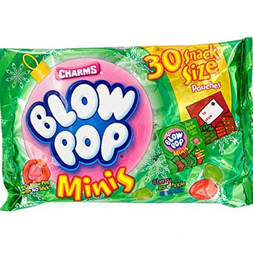 Charms Blow Pops Minis Candy Snack Pouches, Bag of -
