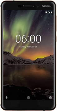 Nokia 6.1 2018 64GB Desbloqueado Color Negro