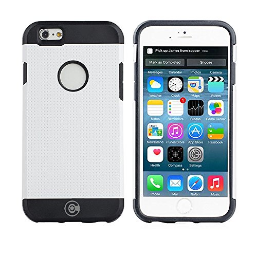 (iPhone 6S Case, iPhone 6 Cases by Cable And Case - for The iPhone6 and iPhone6S [Non-Slip] [Heavy Duty] [Exact-Fit] iPhone 6 (4.7) Armor Case)