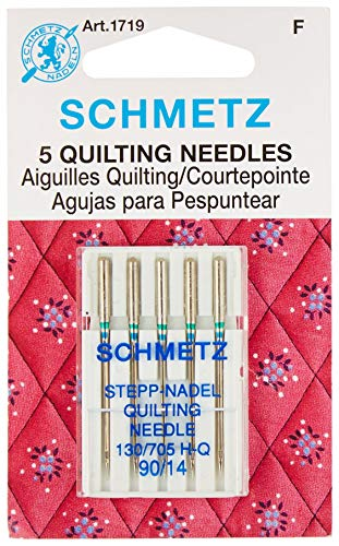 Euro-Notions 71834 Quilt Machine Needles-Size 14/90 5/Pkg