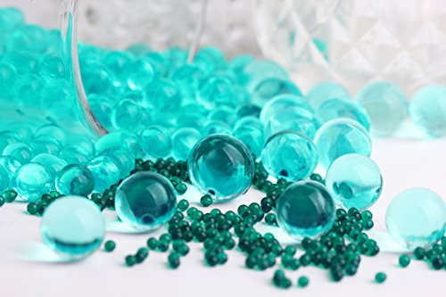 SHEING 5000-Piece Transparent Reusable Water Beads Gel, Jade -