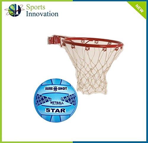 Easi Play Take Away Netball Ring & Ball Sure Shot