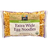 365 Everyday Value, Organic Extra Wide Egg Noodles, 16 Ounce