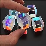 CynKen 1Pcs Optical Glass RGB Dispersion Prism