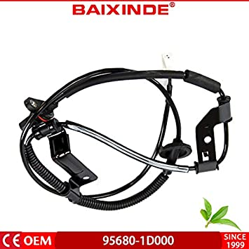 BAIXINDEOEMABS Wheel Speed Sensor Rear Left Fits Kia Rondo 956801D000 95680-1D000