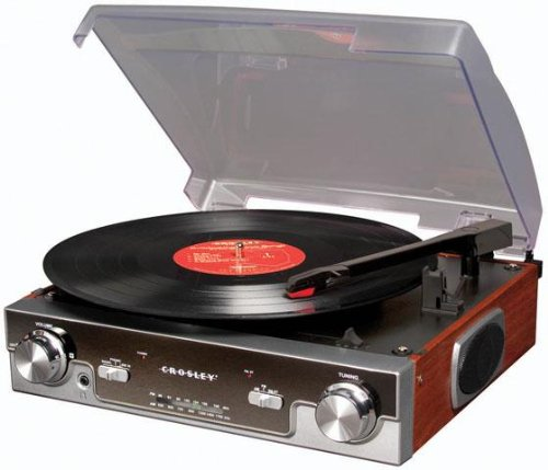 Crosley CR6005A-MA Tech Turntable with AM/FM Radio, used for sale  Delivered anywhere in USA