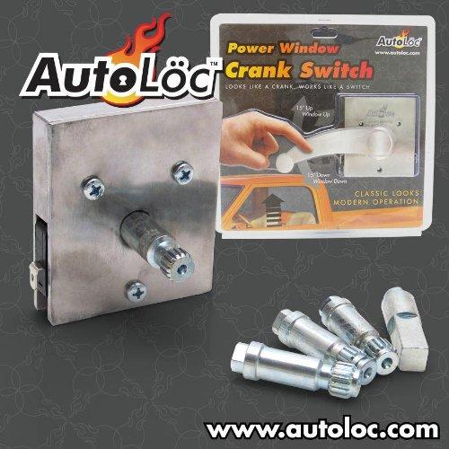 Autoloc 564555 Elec Window Sw ~ Fits All Veh
