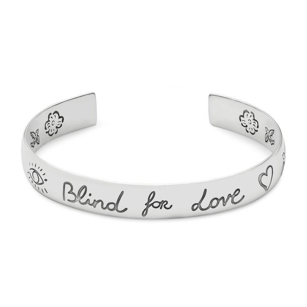 d8eeba370 Amazon.com: Gucci Blind for Love Bracelet YBA454287001017: Jewelry