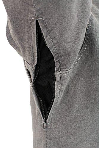 Milwaukee Performance Men's Denim Biker Shirt with Aramid (Grey, XX-Large), 0 Pack by Milwaukee Performance (Image #6)