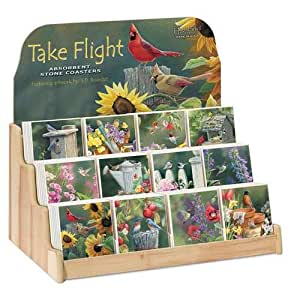 Take Flight Coaster Display 12 designs - 6 of each design