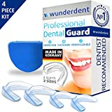 #2: Professional Dental Night Guard - Pack of 4 - Made in Germany - Teeth Grinding Night Protector, Athletic Mouth Guard, Teeth Whitening Tray - Eliminates TMJ & Teeth Clenching - BPA Free (Dental guards)