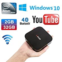 GULEEK W8 Wintel Computer Stick Mini PC with Intel Atom BayTrail CR, Z3735F Quad Core Pocket Smart Computer HDMI TV Stick from Windows10 with Bing OS with DDR3 Memory 2 GB EMMC 32GB Bluetooth 4.0
