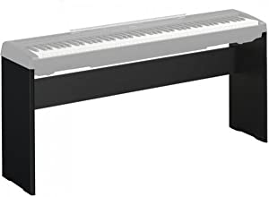 Yamaha L85 Piano Stand for The Yamaha P-Series, Lightweight, Strong and Stable Wooden Stand, Black